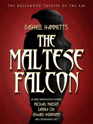 cover image of The Maltese Falcon